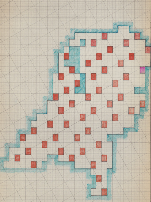 The original Map as drawn by Reinjan